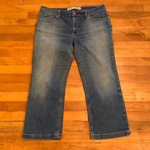 4/$40 - GAP Boot Cut Cropped Stretch Jeans - 14